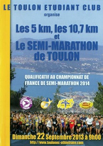 10 km de Toulon 2013