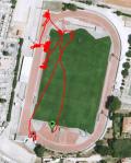 Trace GPS de l'animation