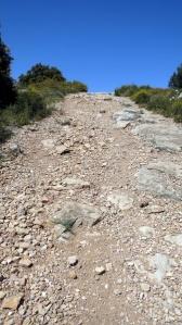 La descente du Roustagnon