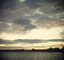 Lever de soleil sur Palavas