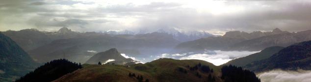 Vue panoramique depuis la Pointe