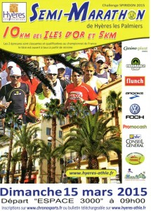 Semi-marathon d'Hyères 2015