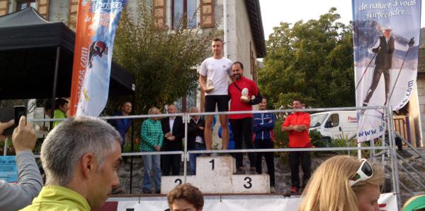 Maxime et Ruello sur le podium