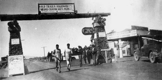 La vraie Trans-American Footrace, en 1928.